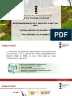 6. Modelo Integrado de Planeación y Gestión MIPG