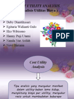 COST UTILITY ANALYSIS new
