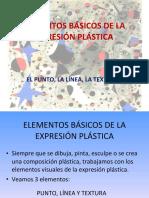 elementosvisualesdelaexpersinplstica-puntolneatextura-111112060821-phpapp01