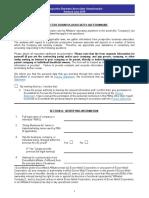 Prospective Business Associates Questionnaire