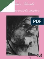 """Kinski, Klaus 1988 - """"Yo Necesito Amor"""""""