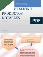 FACTORIZACION Y PRODUCTOS NOTABLES