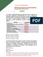 GABARITO - ANÁLISE DE CUSTOS