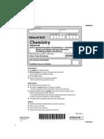 Chemistry Jun 2010 Actual Exam Paper Unit 5