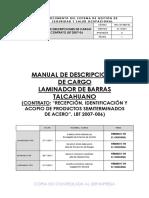 MANUAL DE DESCRIPCIONES DE CARGO-CONTRATO LBT 2007-06