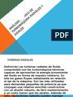 Análisis teórico de turbomáquina radiales y axiales