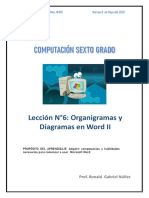 ACTIVIDAD  N°6 DE COMPUTACIÓN 6TO GRADO DE PRIMARIA