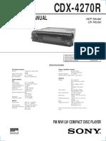 CDX-4270R
