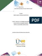 UNIDADES O SECUENCIAS DIDACTICAS E INNOVACIÓN  (2)