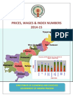 Prices Wages Index Numbers 2014-15
