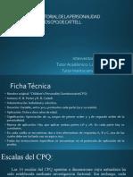CUESTIONARIO FACTORIAL DE LA PERSONALIDAD PARA NIÑOS