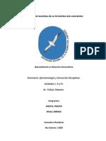 Seminario - Epistemología y formación disciplinar - Por alumnos