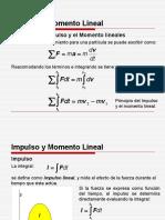 Impulso y momento lineal