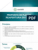 Plan Reapertura CDMX