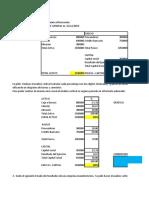 Ejercicios Análisis Estados Financieros 2020