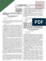 Resolución Administrativa Nº N° 000131-2020-CE-PJ