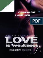 Love is Weakness - Kyrian Malon.epub