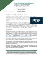 Comunicado N°3 (1)