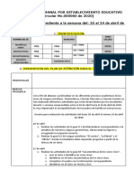 1. ULTIMA VERSION DEL FORMATO DE INFORME SEMANAL 21 DE ABRI DE 2020