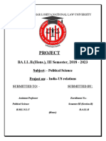 PROJECT POL SCIENCE