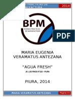 Bpm - Agua Fresh