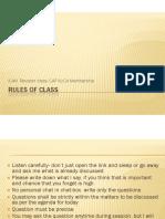 Class I- Basis of Taxation