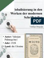 Globalisierung in den Werken der modernen Schriftsteller.pptx