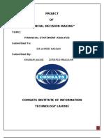 Pia Ratio Analysis