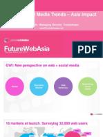 GWI Global Social Media Trends - Asia Impact (Mar 10)