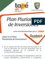 Guatapé Emprende 2020-2023 -Plan Plurianual
