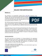 Certification Method ISO 22000-2005