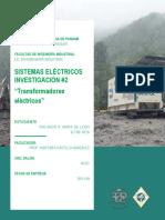 Investigación N#2 - Sist. Eléctricos - Rolando Mora.pdf
