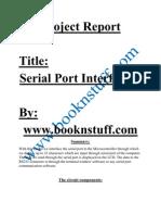 Serial Port Interfacing