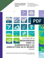 Biodiversidad para la alimentación y la agricultura en el mundo