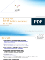 STM SPW 2009 SWOT_compiled Actions