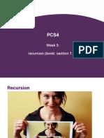 week 3 -recursion