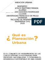 PLANEACION URBANA POWER POINT ALFREDO ACEVEDO