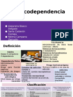 Clase Invertida Farmaco - Farmacodependencia