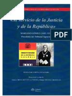 Al Servicio de la Justicia y de la República-Mariano Gómez C