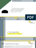 CLASE 30 DE MARZO ESTADÍSTICA DATOS AGRUPADOS (PARTE A)