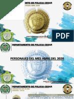 POSTER DESEMPEÑOS EXITOSOS MES DE ABRIL DE 2020