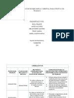 MATRIZ DE EVALUACION BIOMECANICA Y MENTAL PARA PUESTOS DETRABAJO ACTIVIDAD 6