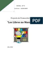 Proyecto de promocion lectora ep76