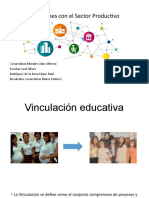 Vinculación educativa