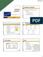 AULA 6 - Introdução ao Estudo dos Ácidos Nucléicos