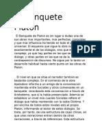 El Banquete  Platon.docx