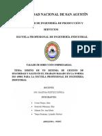 TALLER DE DIRECCIÓN EMPRESARIAL 1.5