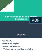 ML internship experience.pptx