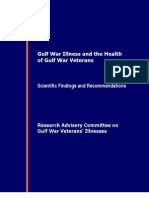 RAC-GWVI 2008. Gulf War Illness and Health of GW Veterans