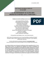 Avis Conseil Scientifique Du 12 Mai 2020